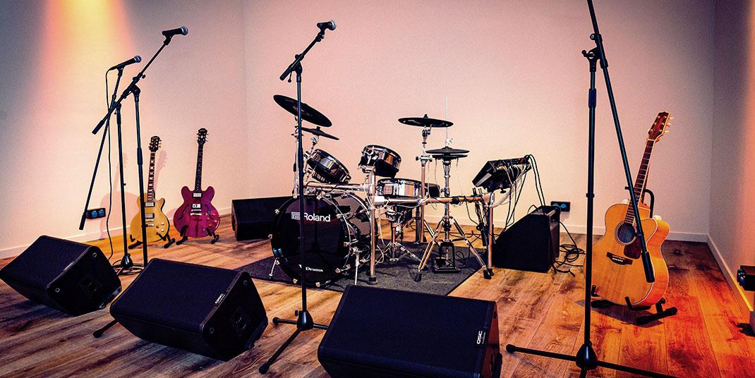 StudiJoos - Repetitieruimtes en studio's voor muziekgroepen